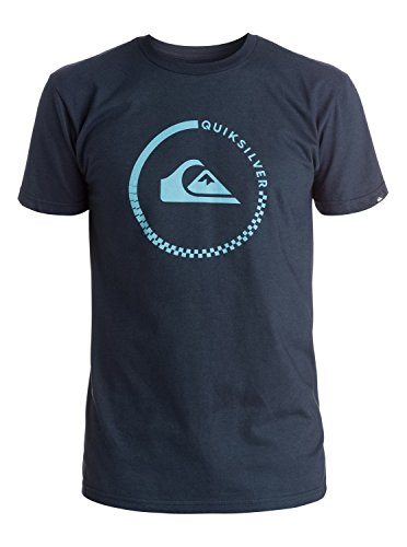 Quiksilver Men's Everyday Active T-Shirt, Navy Blazer, Medium