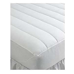 Home design bedding waterproof king mattress pad home kitchen - Home design mattress pads ...