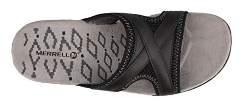 Sandspur Black Sandals Delta Merrell Women's Slide gq040w