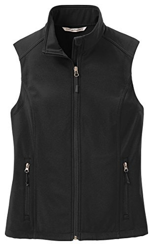 Port Authority Women's VersatileCore Soft Shell Vest_Black_M