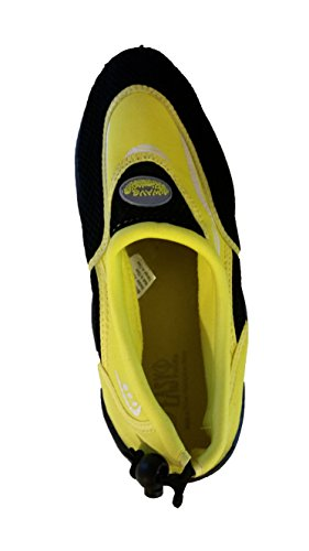 Yellow 12 USA Easy Black Wave Mens Water Shoes and nFwA4xqa