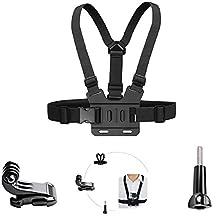 ASOCEA Adjustable Chest Mount Harness for Gopro Hero5 Black Hero 4 Silver AKASO EK7000 Vtin 4k DBPOWER EX5000 ODRVM 12 MP Action Camera Body Chest Strap Mount Belt