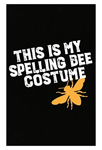 Merch Chimp This is My Spelling Bee Costume Funny Beekeeping Art for Halloween Apairist - Poster