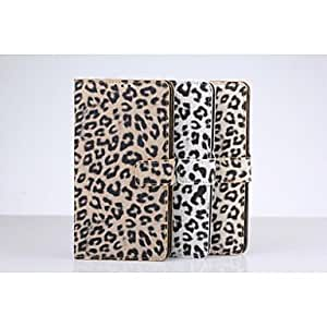 ZL New Leopard Grain Full Body Cases with Stand for Sumsung Galaxy Note 4 (Assorted Color) , Khaki