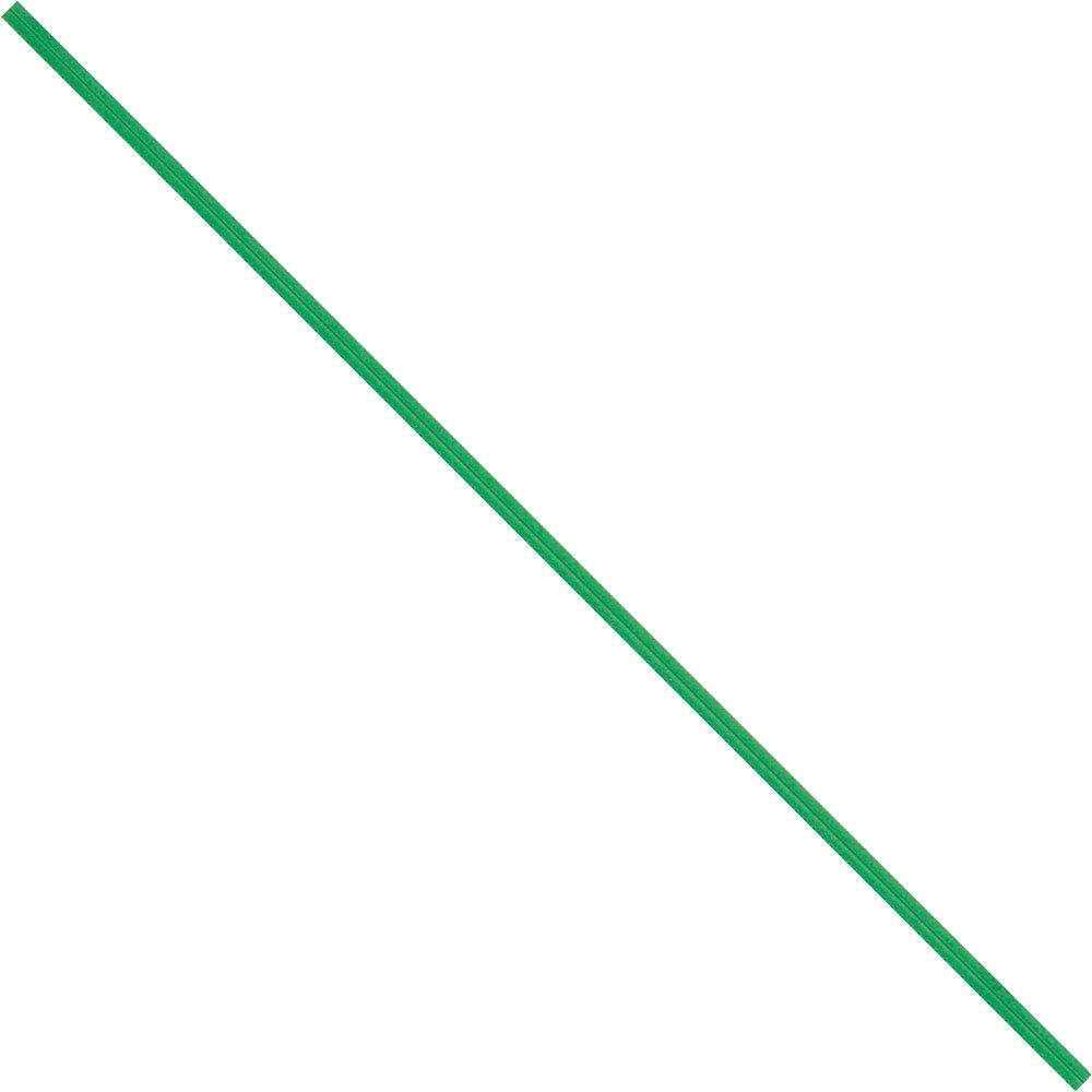 BOX USA BPBT12G Paper Twist Ties, 12'' x 5/32'', Green (Pack of 2000)