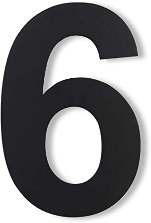 Floating Appearance Customized Address Sign for Home Hotel Office 304 Brushed Stainless Steel 6 Home Address Decor House Number Outdoor Door Number Road Sign Modern Black Address Number