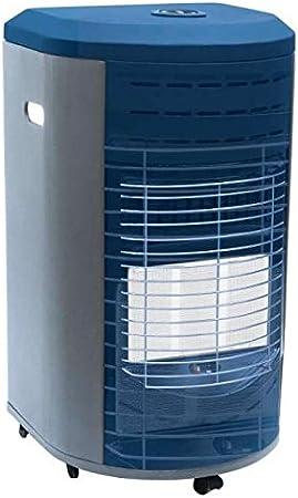 VINCO - 71405 VIN71405 - Estufa de Gas con Panel Infrarrojos, Color Azul, Blanco, 36 x 41 x 72 cm