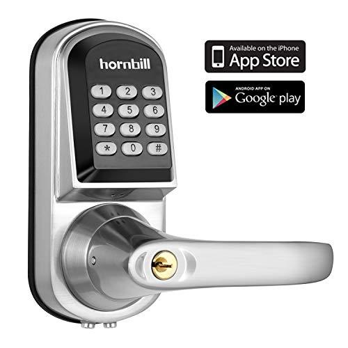 Smart Lock with Keypad Door Knob Keyless Entry Door Lock
