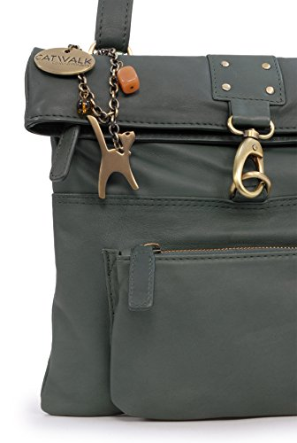 Catwalk tascapane Handbags Verde Donna Collection Borse Scuro wFqnx07gF
