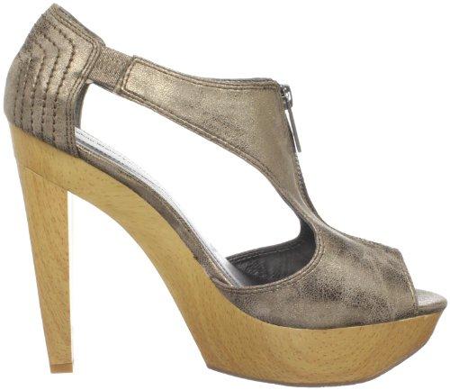 Ck Jeans Kvinna Sherry Plattform Sandal Guld