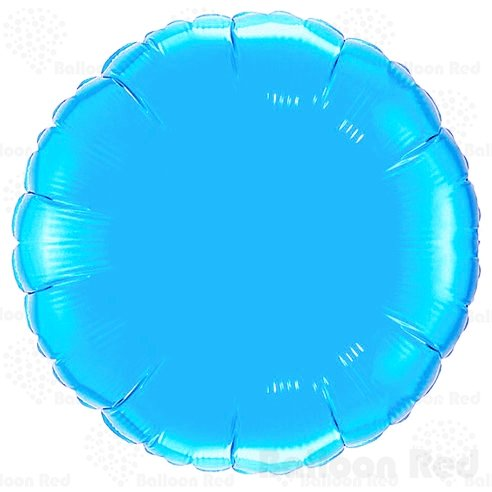18 Inch Helium Foil Mylar Balloons (Premium Quality), Pack of 6, Round - Sky Blue (Homemade Adult Halloween Costumes)