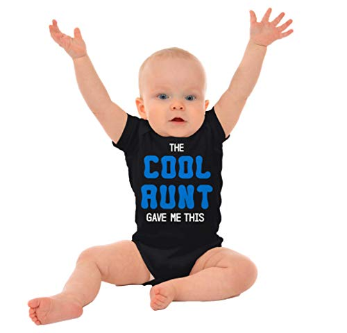 Brisco Brands The Cool Aunt Gave Me This | Auntie Niece Nephew Cute Family Romper Bodysuit by Brisco Brands (Image #3)