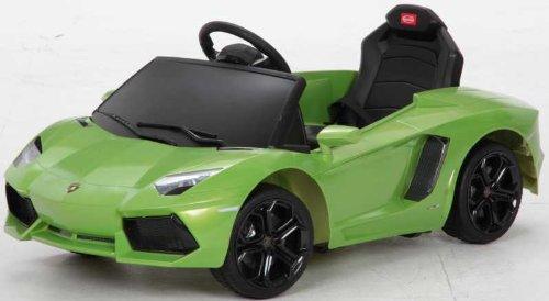 乗用ラジコンカー ランボルギーニ アウ゛ェンタドール グリーン B00CCY89JG