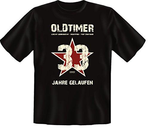 Zum 35 Geburtstag, Oldtimer / Jahrgang 1981, Humorvolles Herren Fun-t-shirts Geschenk zum Geburtstag mit Sprüche-Motiv:, ,