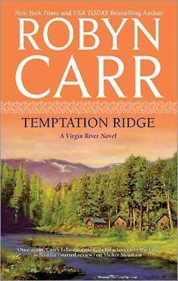 book cover of Temptation Ridge