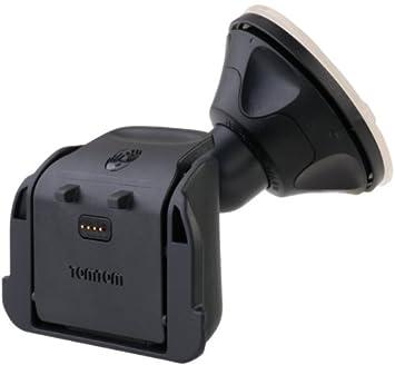 TomTom 9K00.101 - Kit de cargador y soporte de móviles para coches, negro