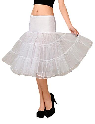 White mujer Petticoat Vestido para Noche Stillluxury qnIw0Y8O