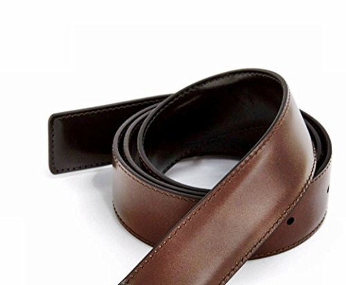 100% Real Leather Reversible Belt Strap Replacement In Black/Brown, Ferragamo Custom Fit 1.3 Wide