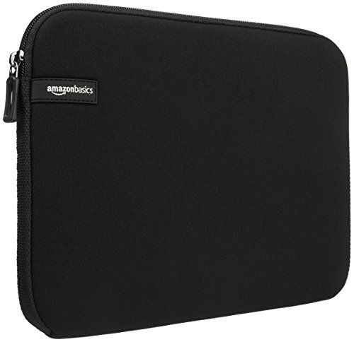 (AmazonBasics 11.6-Inch Laptop Macbook Sleeve Case - Black)