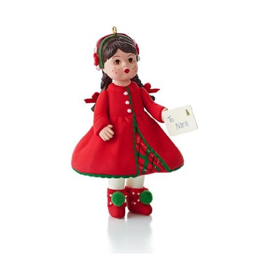 Hallmark 2013 Sending Christmas Cheer Madame Alexander Ornament