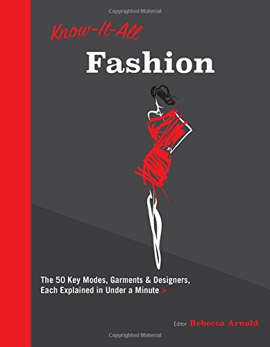 [D0wnl0ad] Know It All Fashion: The 50 Key Modes, Garments, and Designers, Each Explained in Under a Minute EPUB