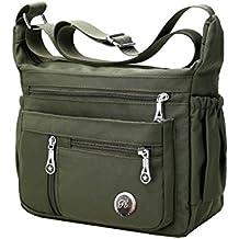 Fabuxry Purses and Shoulder Handbags for Women Crossbody Bag Messenger Bags