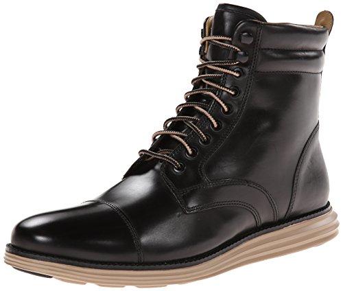 Cole Haan Men's Lunargrand Lace Snow Boot, Black, 11 M US (Cole Haan Lace Boot compare prices)