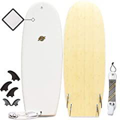 Performance Focused Hybrid Soft Top Surfboards: All Hybrid Foam Surfboards are custom designed to be semi-beginner friendly, incredibly durable, and very performance focused. Check other 'Performance' soft top boards and you'll find NOBODY of...