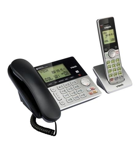 Corded-Cordless 2-Handset Telephone System with Dual Caller ID