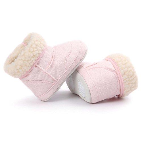 Tefamore Baby Schneestiefel weiche Sohle weiche Krippe Schuhe Kleinkind Stiefel