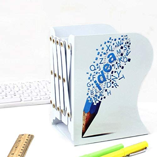 Aktenhalter Retractable Buch stehen Lagerbuchhalter Studenten Folding Bücherregal Convenience (Farbe: B) Xping (Color : B)