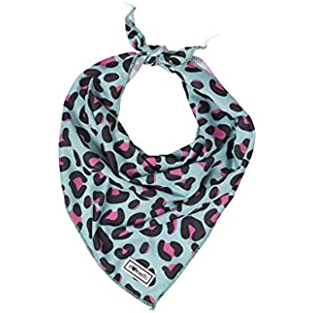 Bulltastic Cougar Cooling Pet Dog Bandana - Bandana Scarf for Dogs - Ideal Cooling Bandana for Hot Summer Weather - One Size Fits Most Design