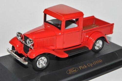 Ford Pick Up Rot 1934 1//43 Yatming Modell Auto mit individiuellem Wunschkennzeichen