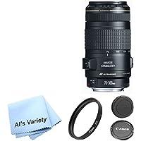 Canon EF 70-300mm f/4-5.6 IS USM Lens Bundle- International Model