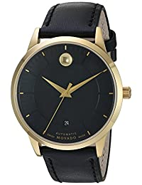 Movado Men's 0606875 Analog Display Swiss Automatic Black Watch