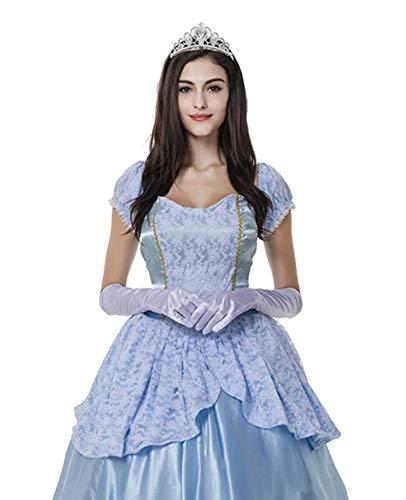 Tutu Dreams Women's Cinderella Princess Adult Halloween Costume Outfits (X-Large) ()