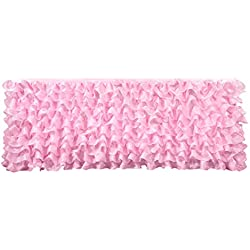 Deluxe 9ft Pink Tier Table Skirt Tutu Table Skirt Decoration Table Skirting for Wedding Baby Shower Birthday Party