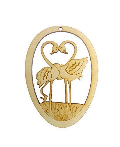 4in Flamingo Ornament - 9
