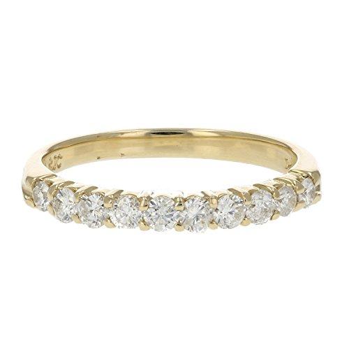 Diamond Wedding Band 14K Gold