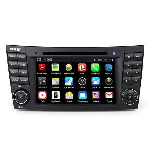 Rupse Android 4 4 4 Car Dvd Gps Navigation For Mercedes