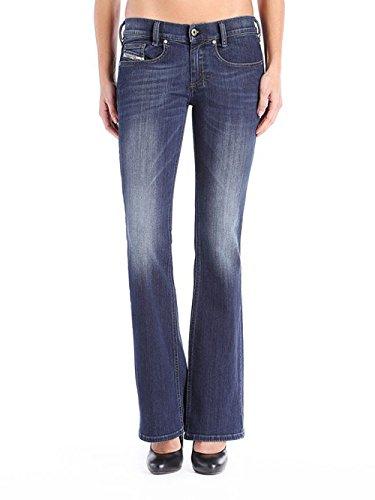 Diesel 0814w Blu Jeans Pantaloni Slim Louvboot Bootcut qFrqgTv