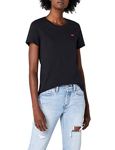 Donna 0008 Perfect The Nero Levi's shirt caviar 2 Tee T CXHzxqxw7