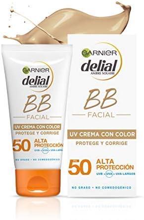 Garnier Delial BB Sun Crema de Protección Solar con Color para ...