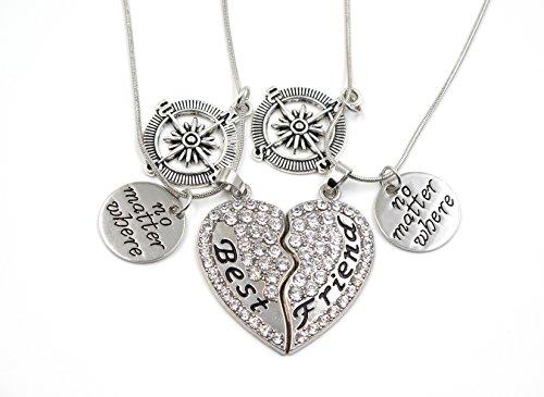 elefan-cornelia-white-crystal-pendant-necklace-set-for-best-friends-double-necklaces-2-pcs