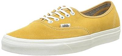 Vans Unisex Varsity Authentic Sneaker Amber Gold Size 9 M US Women / 7.5 M US Men