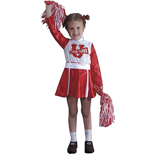 Toddler Spirit Cheerleader Costume (Size: -