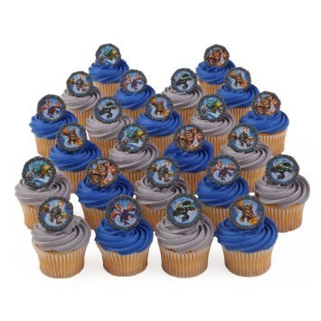 Amazoncom Bakery Crafts 24 Skylanders Giants Cupcake Ring