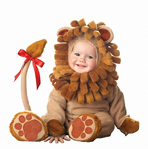 Ytwysj Halloween Costumes for Baby Boys Girls,Infant Toddler Kids Baby Lil' Lion Christmas Dress Up Costume Outfit