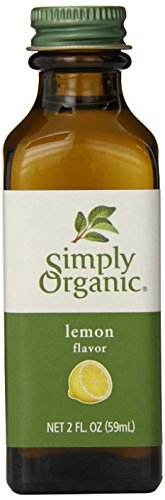 Simply Organic Lemon Flavor Certified Organic, 2-Ounce Container ()