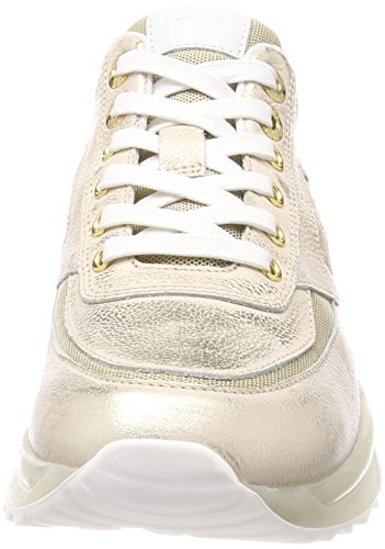 Bogner Damen New York Lady 10 Sneaker Gold (Platinum)